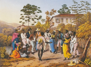 Batuque (1835) Johann Moritz Rugendas